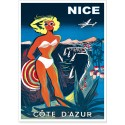 Affiche - Nice - Bikini