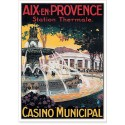 Affiche - Aix-en-Provence - Le Casino municipal (fin de série)