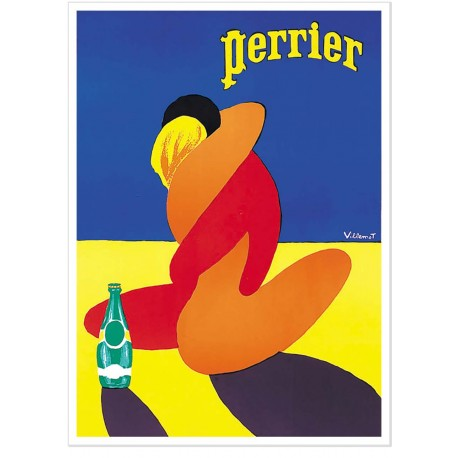 Affiche - Couple - Perrier