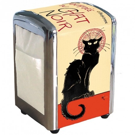Distributeur de serviettes - Tournee du Chat noir