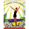 Plaque métal 30x40 - Cote d'Azur Soleil toute l'année