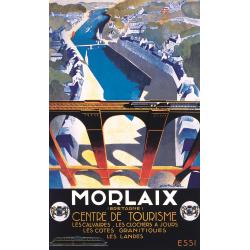 Affiche 50x70 - Le Viaduc de Morlaix