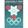 Affiche 50x70 - JO de Grenoble - Flocon