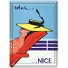 Plaque métal - Relax à Nice