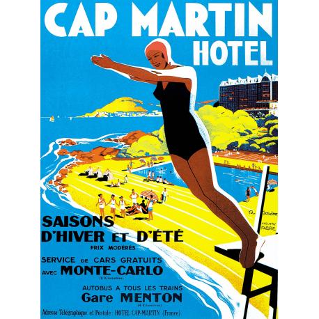 Affiche 50x70 - Grand Hotel Cap Martin