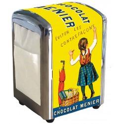 Distributeur de serviettes - Petite Menier - Chocolat Menier
