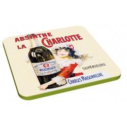 6 dessous de verres - Absinthes - Publicités