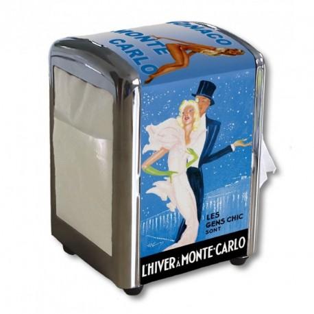 Distributeur de serviettes - Pin-up (fin de série) - Ville de Monte-Carlo