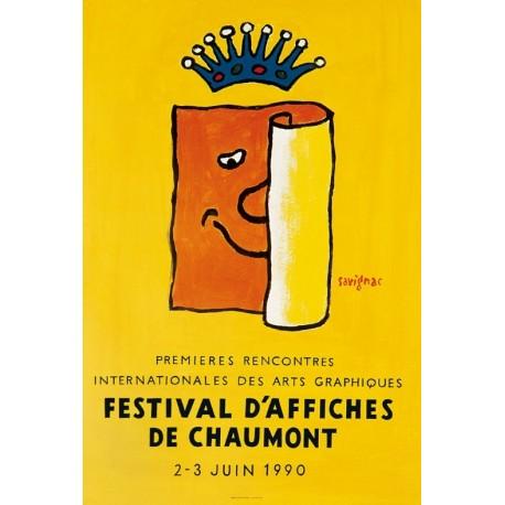 Affiche - Festival d'affiches de Chaumont (fin de série) - Ville de Chaumont
