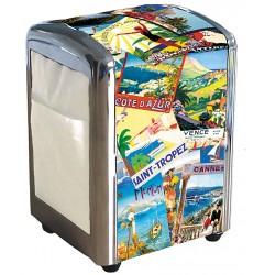 Distributeur de serviettes - Côte d'Azur