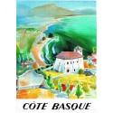 Affiche - La côte basque (rupture définitive)