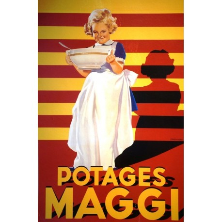 Affiche - Potages