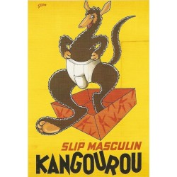 Affiche - Slip (fin de série) - Kangourou