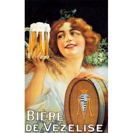 Affiche - Bière (fin de série) - Bière de la Vézelise