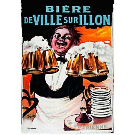 Affiche - Serveur (fin de série) - Bière de Ville-sur-Illon