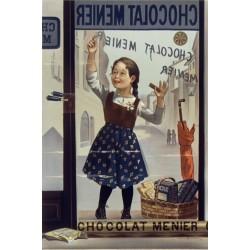 Affiche - Vitrine (fin de série) - Chocolat Menier