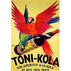 Affiche - Perroquet (fin de série) - Vin apéritif Toni-Kola
