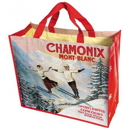 Cabas - Les deux sauteurs - Chamonix - PLM