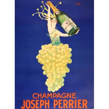 Affiche - Grappe (fin de série) - Champagne Joseph Perrier