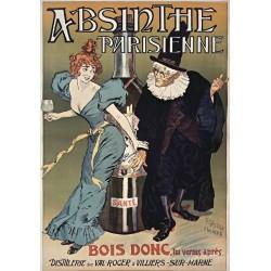 Affiche - Absinthe (fin de série) - Absinthe Parisienne