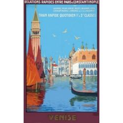 Affiche - Venise - Le Grand Canal (fin de série)