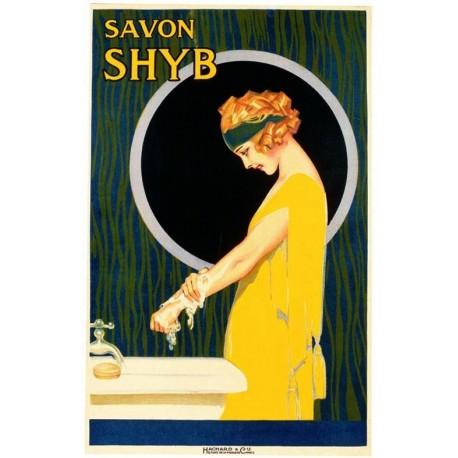 Affiche - Toillette (fin de série) - Savon Shyb