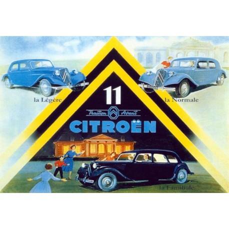 Affiche - Traction Avant (fin de série) - Citroen