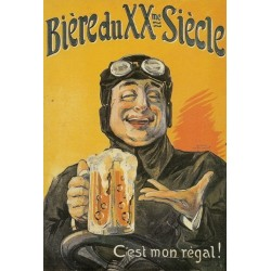 Affiche - Chope (fin de série) - Bière du XXème siècle