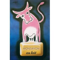 Affiche - Vache (fin de série) - Monsavon au lait