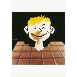 Affiche - Tablette Chocolat (rupture définitive)