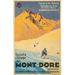 Affiche - Sports d'hiver au Mont Dore (rupture définitive)