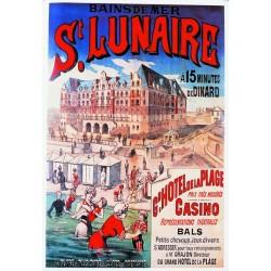 Affiche - Plage de Saint Lunaire (rupture définitive)