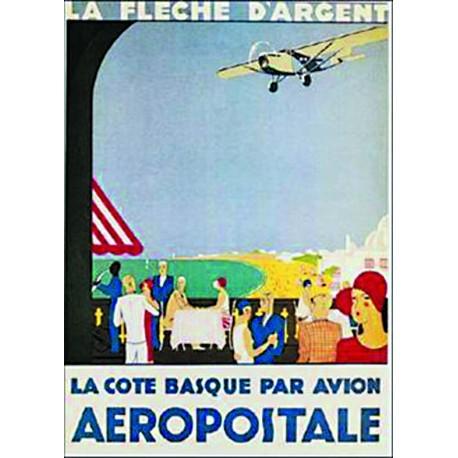 Affiche - Avion (fin de série) - Aéropostale