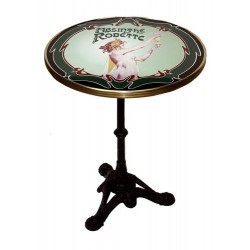 Table de bistrot émaillée - Absinthe