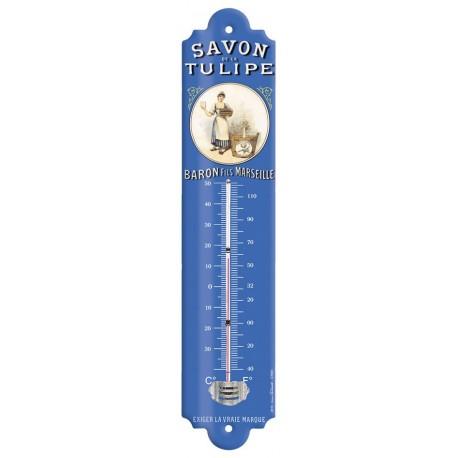 Thermomètre - Lavandière - Savon de la Tulipe Baron Fils
