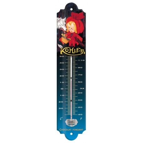 Thermomètre - Chaperon rouge Chocolat - Kohler