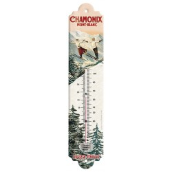 Thermomètre - Les deux sauteurs - Chamonix