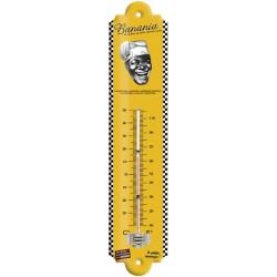 Thermomètre - Tête Tirailleur noir et blanc (fin de série)