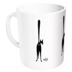 Mug - Troisième œil - Chats Dubout
