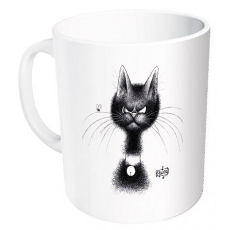 Mug - La mouche - Chats Dubout