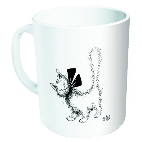 Mug - Chat au ruban - Chats Dubout