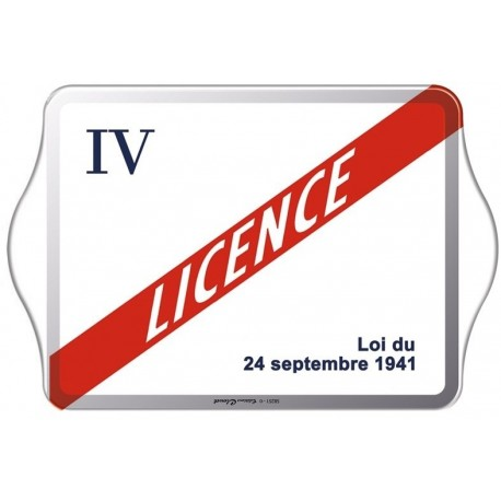Vide-poches - Licence IV - Licence IV