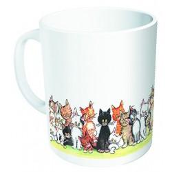 Mug - Chats en couleur