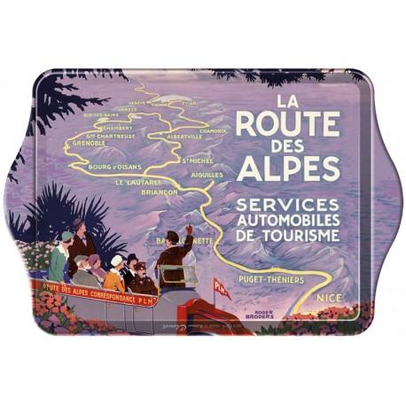 Vide-poches - La route des Alpes
